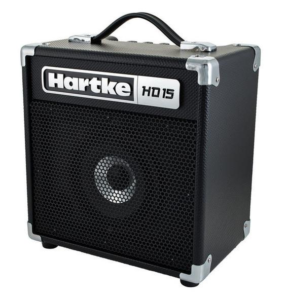 """AMPLIFIER BASS GUITAR HARTKE HD15 6.5"""" HYDRIVE SPEAKER 15W COMBO"""