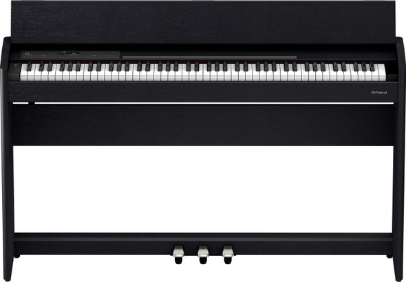 KEY BOARD ROLAND F701CB PIANO WITH WOOD STAND AND SEAT