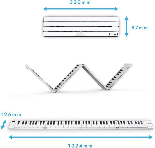 KEY BOARD KORG FP88 FOLDING PIANO AND MIDI CONTROLLER