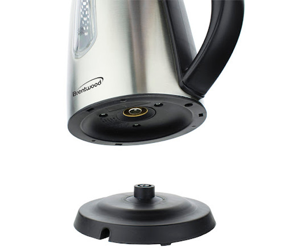 KETTLE BRENTWOOD KT-1710S 1.0L CORDLESS STAINLESS STEEL