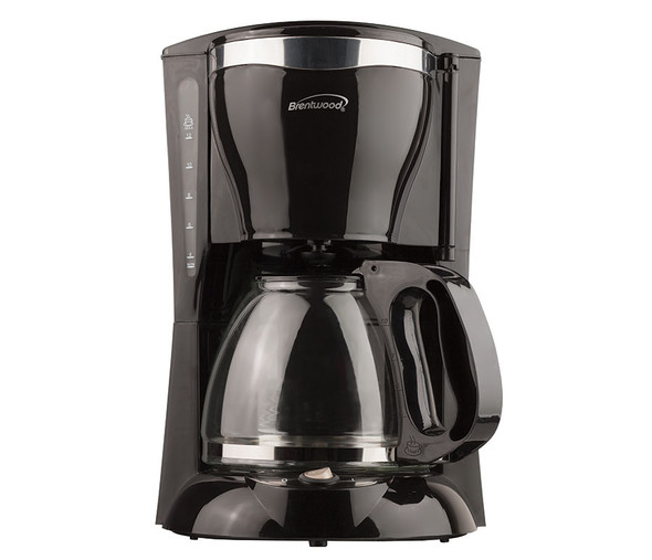 COFFEE MAKER BRENTWOOD TS-217 12CUP BLACK 110V
