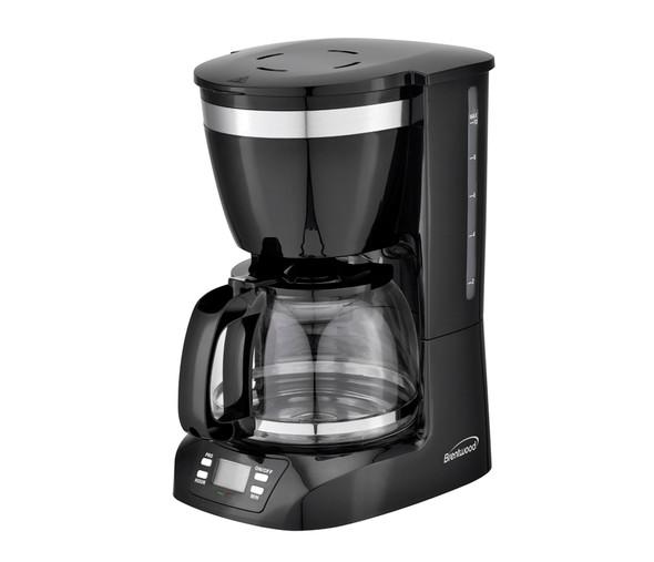 COFFEE MAKER BRENTWOOD TS-219BK 12CUP DIGITAL BLACK 110V