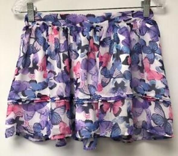 Kids Children Place skirt butterflies 7/8