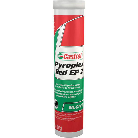 GREASE TUBE CASTROL PYROPLEX RED EP2 14 OZ