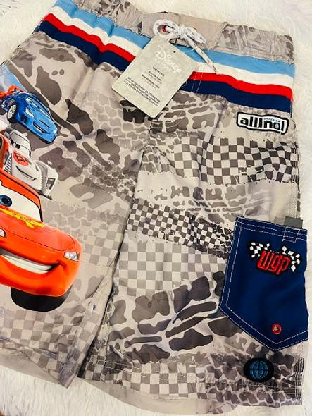 Kids Disney Boys Swim Trunks Cars size10
