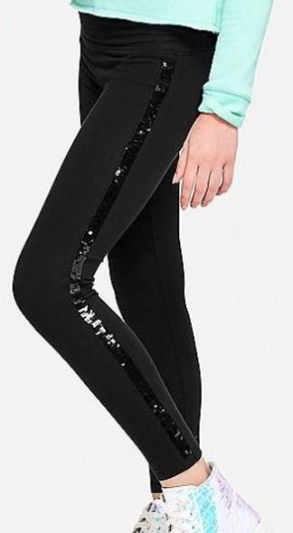 Kids Legging Girls Black with sequin size 14/16