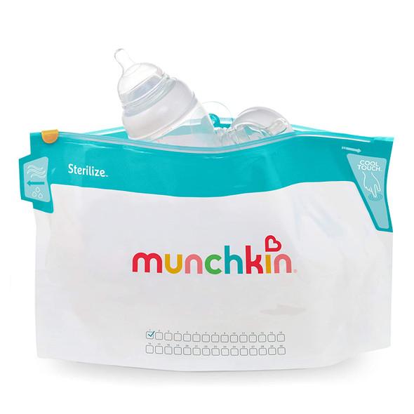 Baby Microwave Sterilizer Bag Munchkin 6pcs