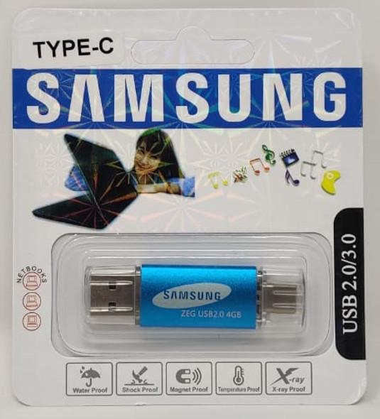 COMPUTER FLASH DRIVE 4GB USB 2.0/3.0 USB & TYPE-C USB PORTS