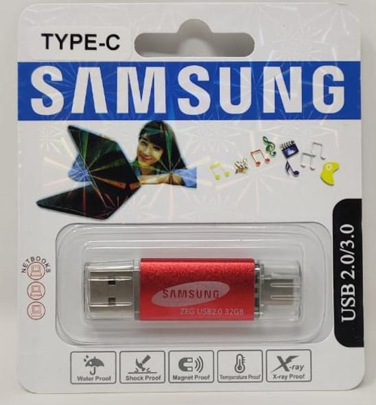 COMPUTER FLASH DRIVE 32GB USB 2.0/3.0 USB & TYPE-C USB PORTS
