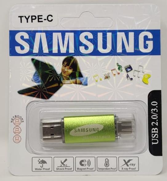 COMPUTER FLASH DRIVE 64GB USB 2.0/3.0 USB & TYPE-C USB PORTS