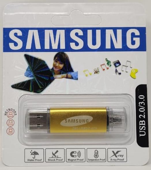 COMPUTER FLASH DRIVE 4GB ZEG USB 2.0/3.0 USB & MICRO USB PORTS