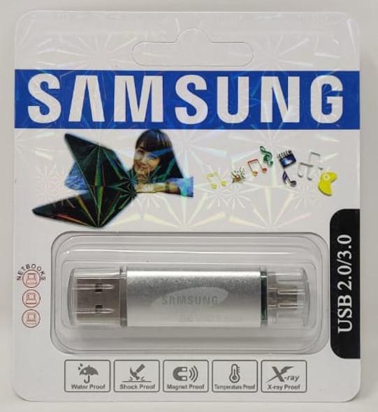 COMPUTER FLASH DRIVE 32GB ZEG USB 2.0/3.0 USB & MICRO USB PORTS