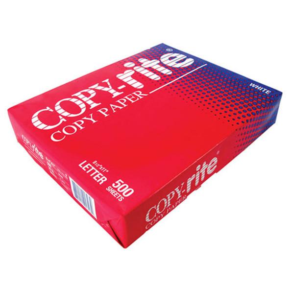 "Computer Paper Copy Rite Letter 8 1/2"" x 11"" White 500 Sheets"