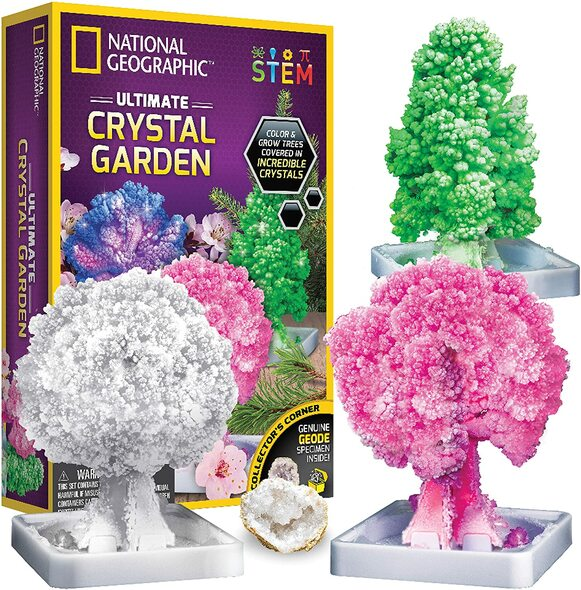NATIONAL GEOGRAPHIC Crystal garden  STEM