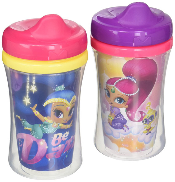 Baby NUK Insulated Sippy Cup Shimmer & Shine 9oz 2pc