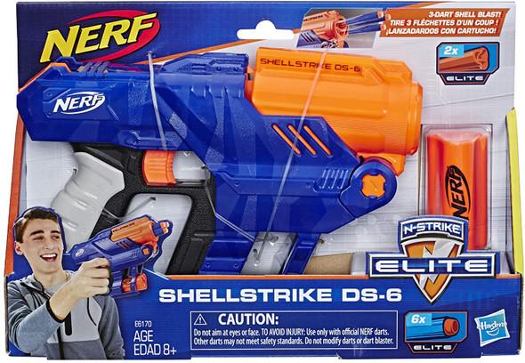 NERF Elite SHELLSTRIKE DS-6