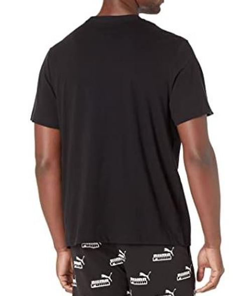 Men T-shirt Puma Black Rainbow print