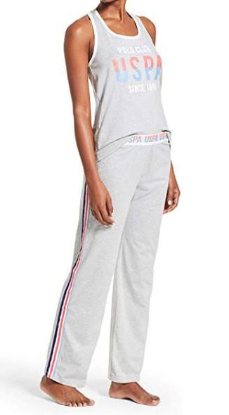 Women PJ/Lounge wear Set US Polo Grey