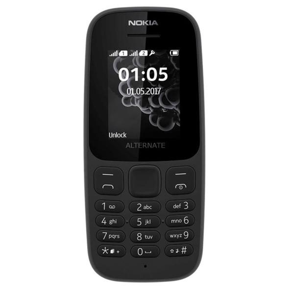 CELLPHONE NOKIA 105 DUAL SIM 4TH EDITION TA-1174DS BLACK