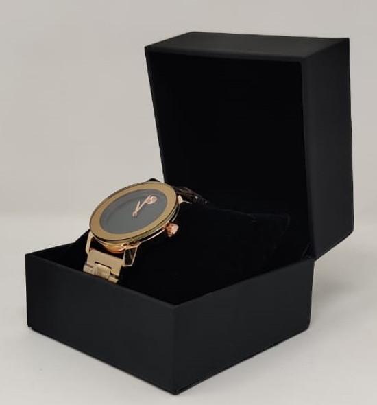 Watch Fashion Generic Men Rose Gold With Metal Strap Broad