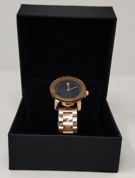 Watch Fashion Generic Women Rose Gold With Metal Strap Broad