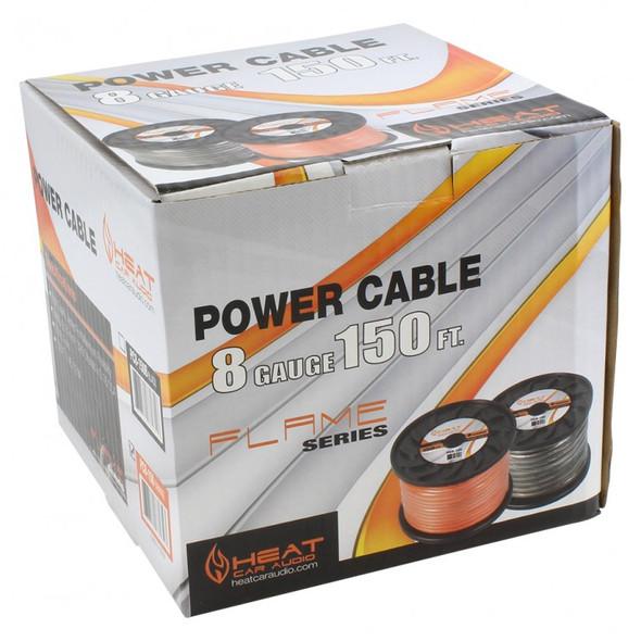 POWER CABLE CAR 8G I-HEAT-PC8-150 BLASTKING ORANGE 150FT ROLL
