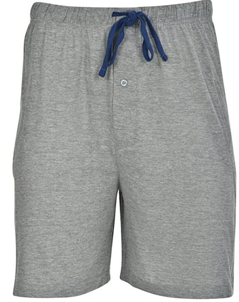Men Shorts Hanes 2pack knit Grey & Blue