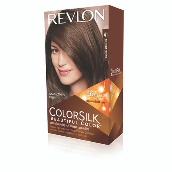 Revlon COLORSILK hair color 41 Medium Brown Brown