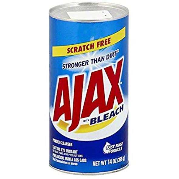 Ajax Powder Cleaner with Bleach, 14 oz (396 g)