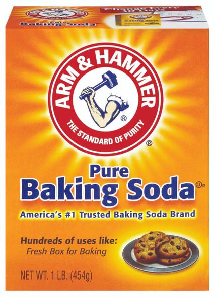 Arm & Hammer Pure Baking Soda 1lb 454g