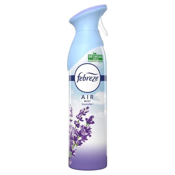Febreze Spray Air Fresheners Air Mist Aerosol Eliminate Odors Spray 300ml