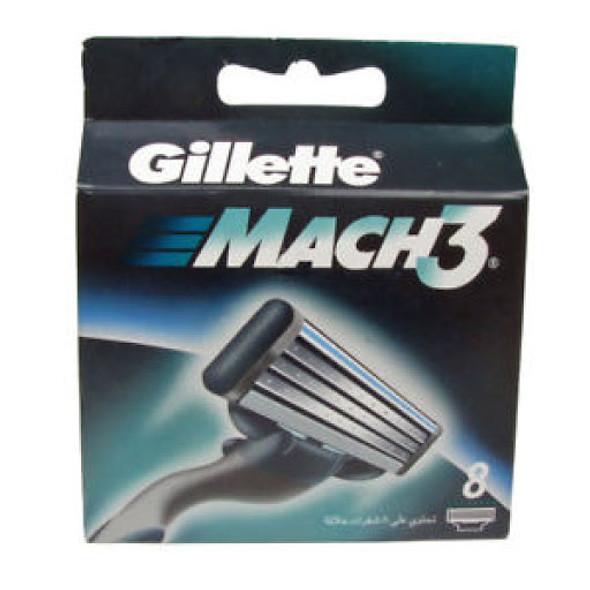 GILLETTE MACH3 8PCS PACK