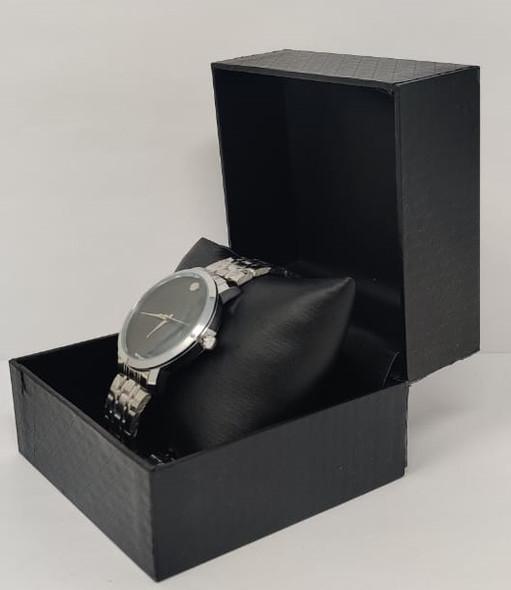 Watch Fashion Generic Men Silver With Metal Strap Fine