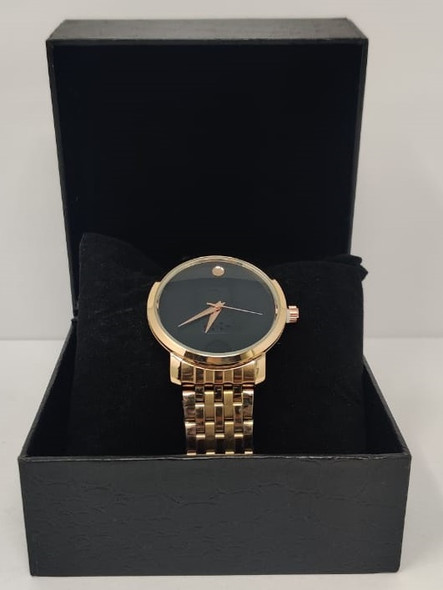 Watch Fashion Generic Men Rose Gold With Metal Strap Fine