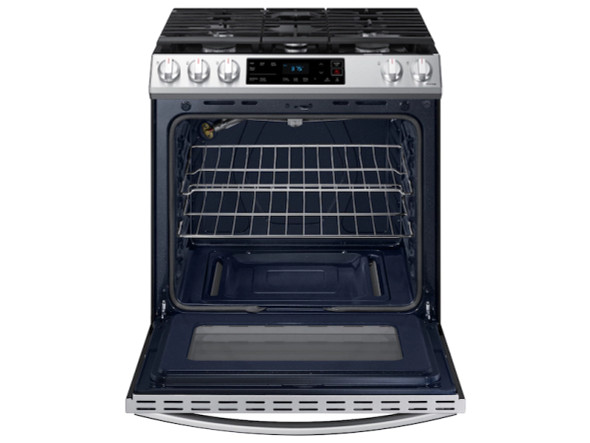 STOVE 5 BURNER SAMSUNG NX60T8111SS STAINLESS STEEL