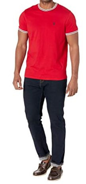 Men T-shirt US Polo round neck Red