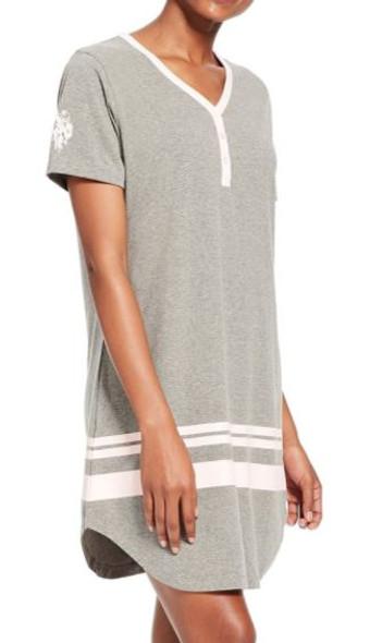 Women Sleepshirt/Loungewear  US Polo Grey/pink