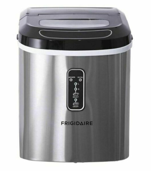 ICE MAKER FRIGIDAIRE EFIC106-SS 26lbs STAINLESS STEEL