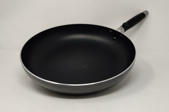 FRYING PAN LEOSTAR FM30 WITH GLASS LID 30CM