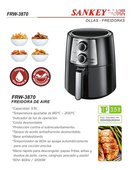 AIR FRYER SANKEY FRW-3870 3.5L
