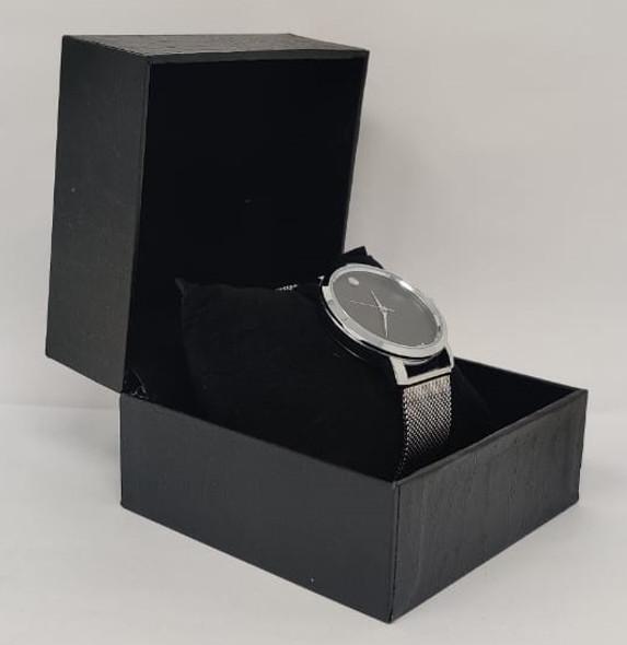 Watch Fashion Generic Men Silver With Mesh Strap