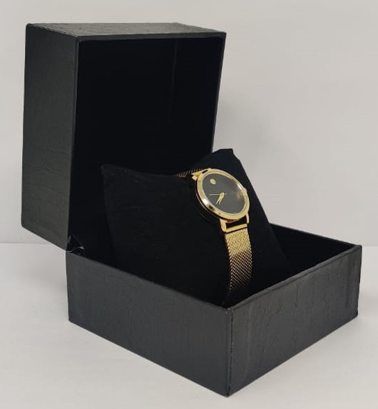 Watch Fashion Generic Women Gold With Mesh Strap