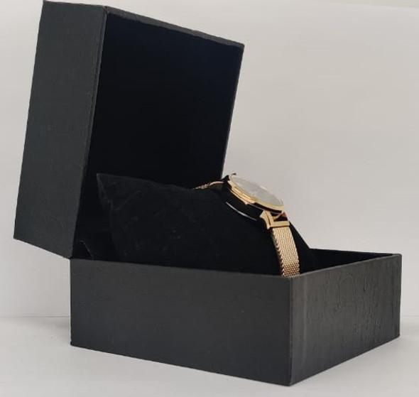 Watch Fashion Generic Women Rose Gold With Mesh Strap