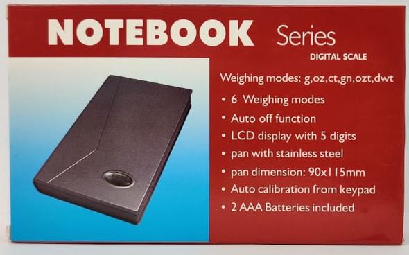 SCALE DIGITAL (GOLD) NOTEBOOK SERIES 1108-2