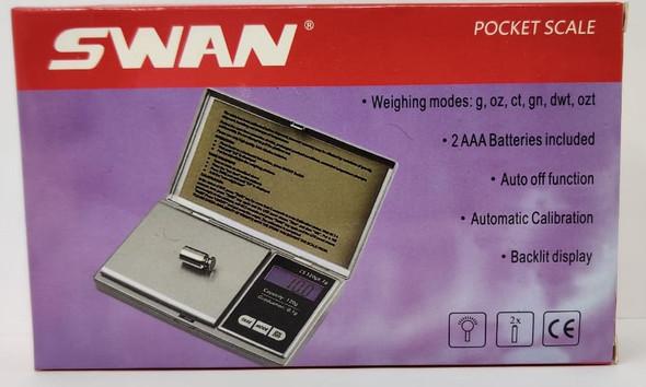 SCALE DIGITAL (GOLD) SWAN POCKET SCALE B6-200G