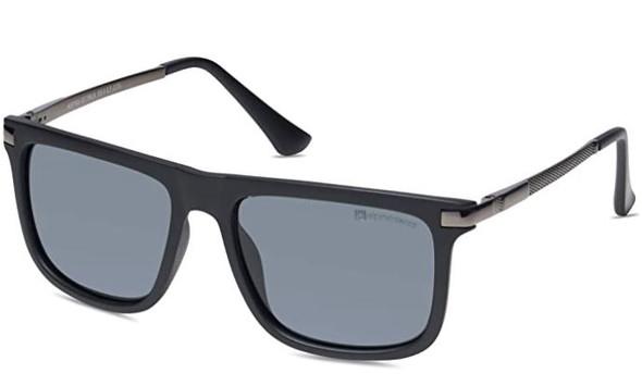 Sunglasses Alpine Swiss Men's Polarized Square Lightweight 100% UV 400 Protection Navy