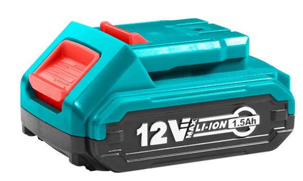 BATTERY PACK 12V 1.5Ah TOTAL TBLI12151 LITHIUM-ION