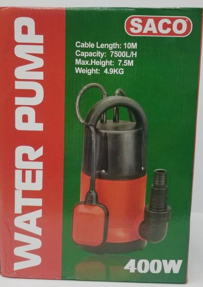 WATER PUMP SUBMERSIBLE SACO 110V 400W FR-18823