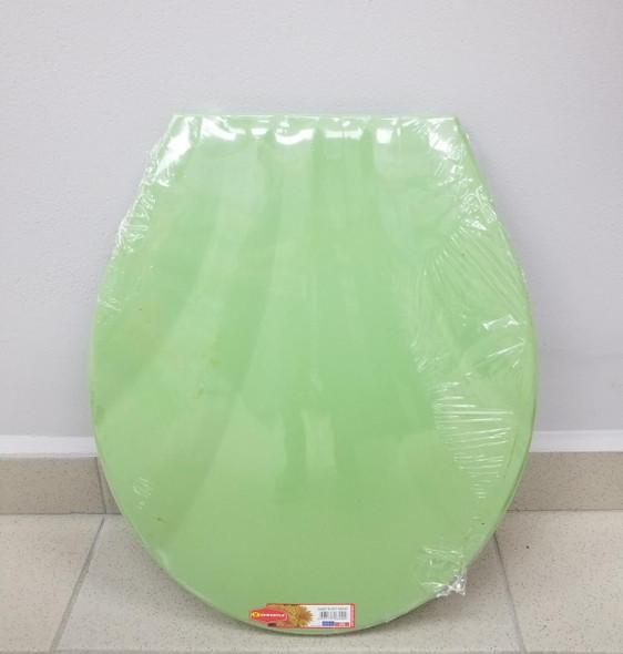 TOILET SEAT PLASTIC SENYAYLA SHELL GREEN