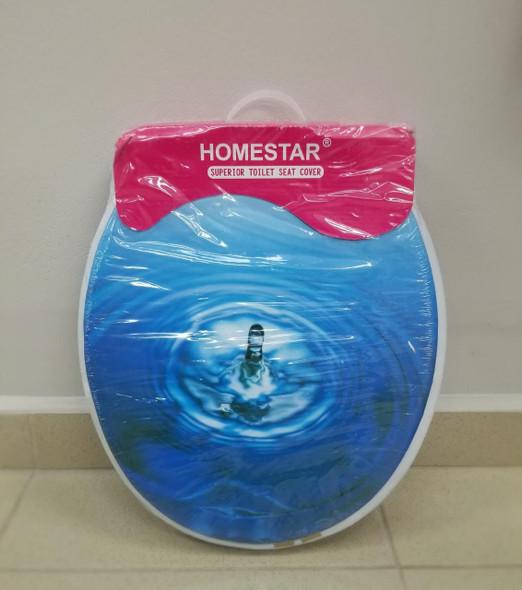 TOILET SEAT SOFT HOMESTAR DESIGN PATTERNS #268401